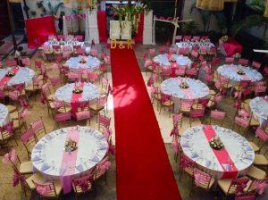 Outdoor Courtyard Weddings